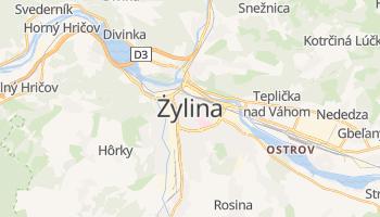 Żylina - szczegółowa mapa Google