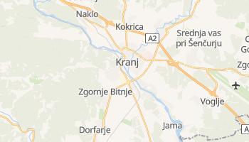 Kranj - szczegółowa mapa Google