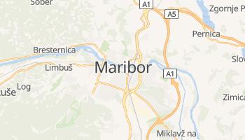 Maribor - szczegółowa mapa Google