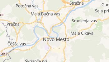 Novo mesto - szczegółowa mapa Google