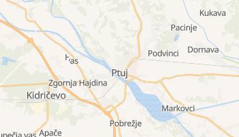 Ptuj - szczegółowa mapa Google