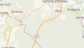 Vrhnika - szczegółowa mapa Google