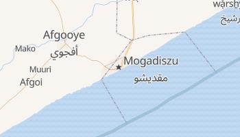 Mogadiszu - szczegółowa mapa Google