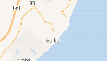 Ballito - szczegółowa mapa Google