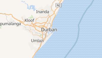 Durban - szczegółowa mapa Google