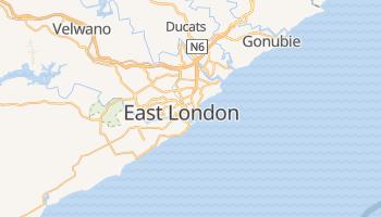East London - szczegółowa mapa Google