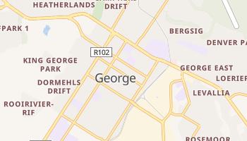George - szczegółowa mapa Google