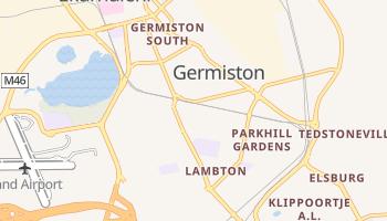 Germiston - szczegółowa mapa Google