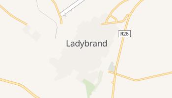 Ladybrand - szczegółowa mapa Google