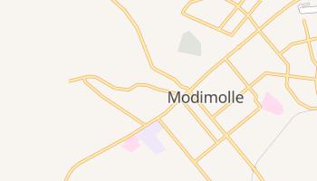Modimolle - szczegółowa mapa Google