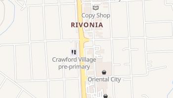 Sandton - szczegółowa mapa Google