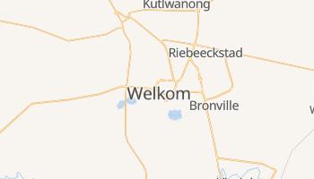 Welkom - szczegółowa mapa Google