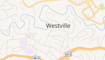 Westville - szczegółowa mapa Google