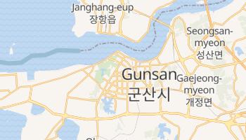 Kunsan - szczegółowa mapa Google
