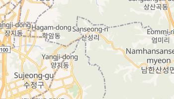 Kwangju - szczegółowa mapa Google