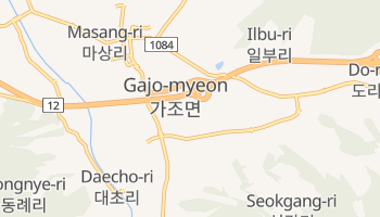 Pusan - szczegółowa mapa Google