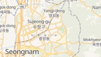 Sŏngnam - szczegółowa mapa Google