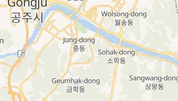 Suwŏn - szczegółowa mapa Google