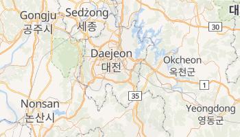 Taejŏn - szczegółowa mapa Google