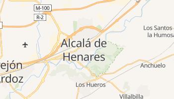 Alcalá de Henares - szczegółowa mapa Google