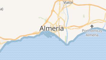 Almería - szczegółowa mapa Google