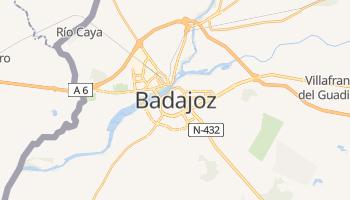 Badajoz - szczegółowa mapa Google
