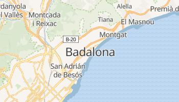 Badalona - szczegółowa mapa Google