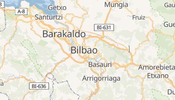 Bilbao - szczegółowa mapa Google