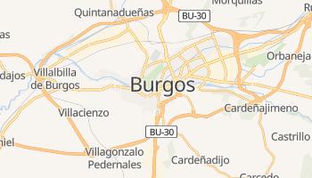 Burgos - szczegółowa mapa Google