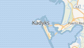 Kadyks - szczegółowa mapa Google