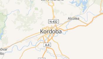 Córdoba - szczegółowa mapa Google