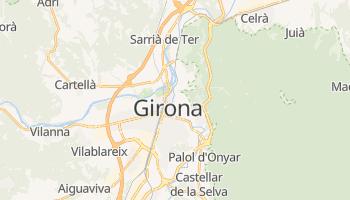 Girona - szczegółowa mapa Google