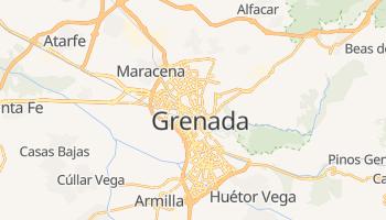 Grenada - szczegółowa mapa Google