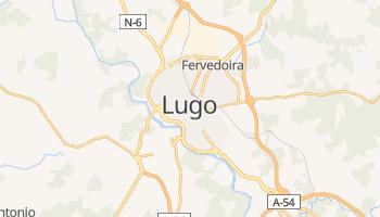 Lugo - szczegółowa mapa Google