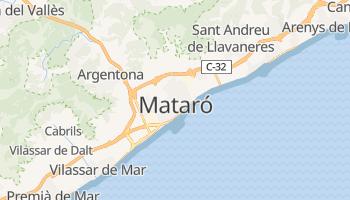 Mataró - szczegółowa mapa Google