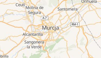 Murcja - szczegółowa mapa Google