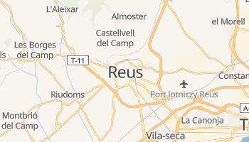 Reus - szczegółowa mapa Google