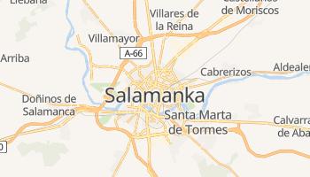 Salamanka - szczegółowa mapa Google