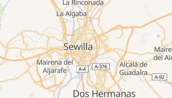 Sewilla - szczegółowa mapa Google