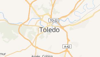 Toledo - szczegółowa mapa Google