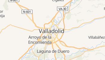 Valladolid - szczegółowa mapa Google