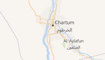 Chartum - szczegółowa mapa Google