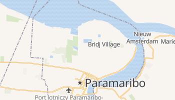 Paramaribo - szczegółowa mapa Google