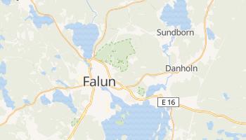 Falun - szczegółowa mapa Google