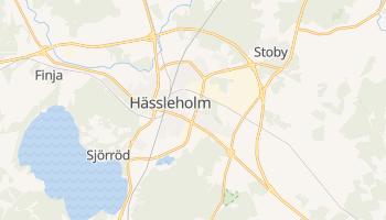 Gmina Hässleholm - szczegółowa mapa Google