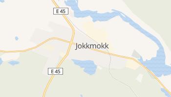 Jokkmokk - szczegółowa mapa Google