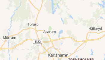 Karlshamn - szczegółowa mapa Google