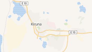 Kiruna - szczegółowa mapa Google