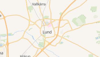 Lund - szczegółowa mapa Google