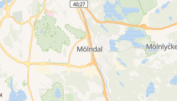 Gmina Mölndal - szczegółowa mapa Google